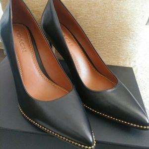 Coach Shoes - Black Coach heels